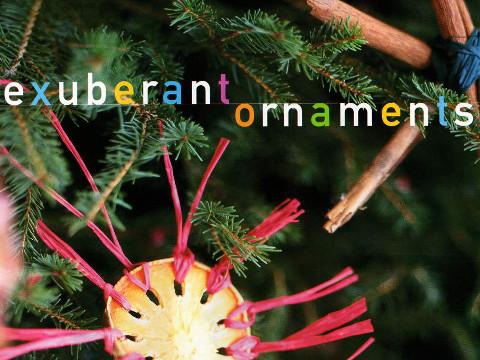 Exuberant Ornaments